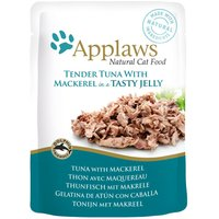 Applaws Pouches Cat Food in Jelly 16 x 70g - Chicken with Liver