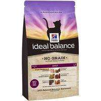 Hills Ideal Balance Feline No Grain - Chicken & Potato - Economy Pack: 2 x 2kg