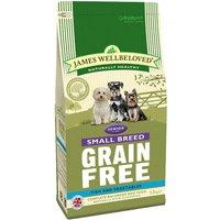 James Wellbeloved Senior Small Breed Grain Free - Fish & Veg - Economy Pack: 3 x 1.5kg