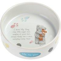 Me to You Ceramic Dog Bowl - 0.6 litre