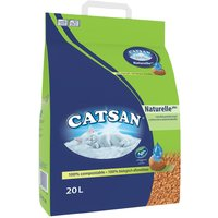 Catsan Naturelle Plus Cat Litter - 20l