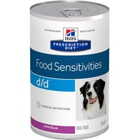 Hills Prescription Diet Canine d/d Allergy & Skin Care - Saver Pack: Duck (24 x 370g)