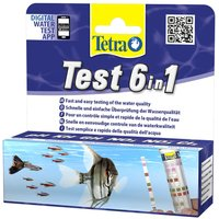 TetraTest 6 in 1 Water Test Strips - 25 Test Strips