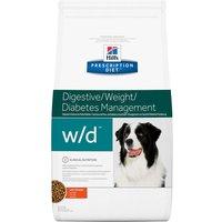 Hills Prescription Diet Canine w/d - Digestive/Weight/Diabetes Management - Economy Pack: 2 x 12kg