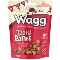 Wagg Tasty Bones Treats - Saver Pack: 3 x 150g
