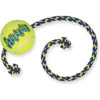 KONG SqueakAir Ball with Rope - Medium/Large