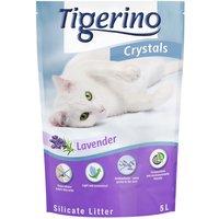 Tigerino Crystals Lavender Cat Litter - Economy Pack: 3 x 5 litre