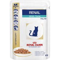 Royal Canin Veterinary Diet Cat Renal with Tuna - 12 x 85g