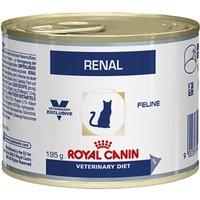 Royal Canin Veterinary Diet Cat - Renal Chicken - 12 x 195g