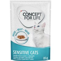 Concept for Life Sensitive Cats in Jelly - 12 x 85g