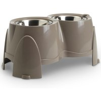 Savic Ergo Feeder Doggy Bar - 2 x 0.85 litre