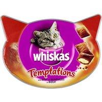 Whiskas Temptations 60g - Saver Pack: 3 x Chicken & Cheese