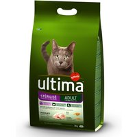Ultima Adult Sterilised - Chicken & Barley - 3kg
