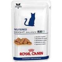 Royal Canin Vet Care Nutrition Cat - Neutered Weight Balance - 12 x 100g