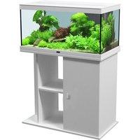 Aquatlantis Style LED 80 x 35 Aquarium Set - White