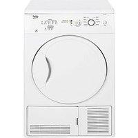 Beko Dc7112W 7Kg Condenser Dryer - White