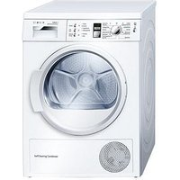 Bosch Wtw863S1Gb 7Kg Condenser Tumble Dryer With Selfcleaning Condenser - White