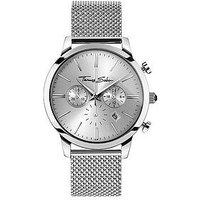 Thomas Sabo Eternal Rebel Chronograph Stainless Steel Mesh Bracelet Watch, One Colour, Men