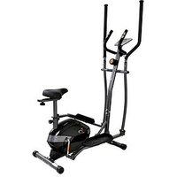 V-Fit Al-16/1Ce Mag 2-In-1 Cycle-Elliptical Trainer