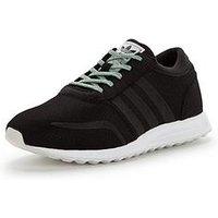 adidas Originals Los Angeles Junior, Black, Size 3