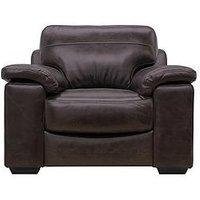 Vinci Leather Armchair