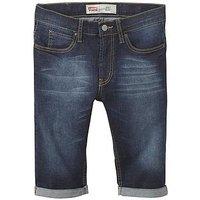 Boys, Levi's 511 Slim Fit Denim Short, Blue Wash Denim, Size Age: 2 Years