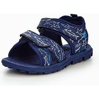 Joules JUNIOR BOY ROCK ACTIVE SANDAL, Navy, Size 3 Older