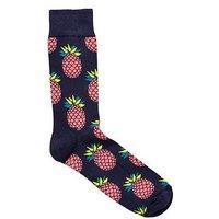 HAPPY SOCKS Pineapple Socks, Multi, Size 4-7, Men