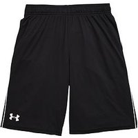 UNDER ARMOUR Older Boys Tech Block Short, Black, Size 11-12 Years