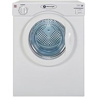 White Knight C39Aw 3.5Kg Load Compact Vented Freestanding Tumble Dryer - White