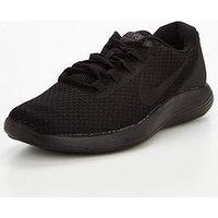 Nike LunarConverge - Black , Black/Black, Size 12, Men