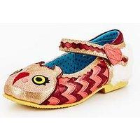 Irregular Choice Mini Harrold Girls Shoe, Gold, Size 13 Younger