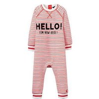 Joules Boys Ernie Sweater Babygrow, Stripe, Size 18-24 Months