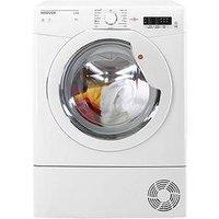 Hoover Link Hlc8Lg 8Kg Load Condenser Tumble Dryer - White