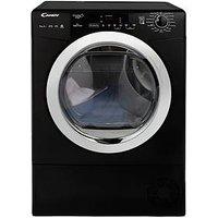 Candy Grand O Vita Smart Gvsh9A2Dceb 9Kg Load, Heat Pump Tumble Dryer - Black/Chrome