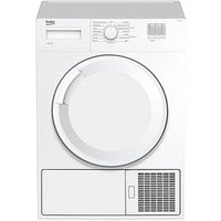 Beko Dtgc8000W 8Kg Load, Full Size Tumble Dryer - Next Day Delivery - White