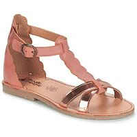 Citrouille et Compagnie  GUBUDU  girls's Children's Sandals in pink