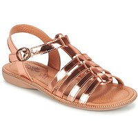 Citrouille et Compagnie  GROUFLA  girls's Children's Sandals in gold