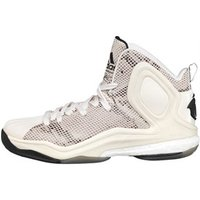 adidas Mens D Rose 5 Boost OG Trainers White/Black/Brown