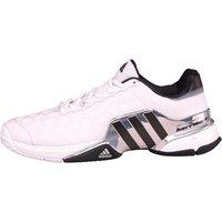 adidas Mens Barricade 2015 Tennis Shoes White/Core Black/Red