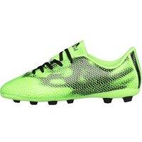 adidas Junior F5 FxG Football Boots Solar Green/Core Black/White