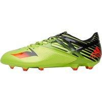 adidas Mens MESSI 15.1 FG / AG Football Boots Semi Solar Slime/Solar Red/Core Black