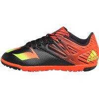 adidas Boys Messi 15.3 TF Astro Football Boots Core Black/Solar Green/Solar Red
