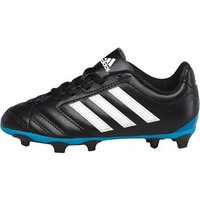 adidas Junior Goletto V FG Football Boots Core Black/White/Solar Blue