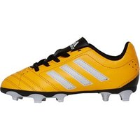 adidas Junior Goletto V FG Football Boots Solar Gold/White/Core Black