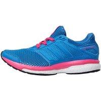 adidas Womens Supernova Glide 8 Chill Boost Neutral Running Shoes Blue