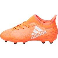 adidas Junior X 16.3 FG Football Boots Solar Red/Silver Metallic/Hi-Res Red
