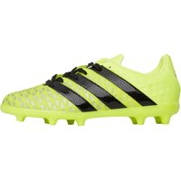 adidas Junior ACE 16.1 FG Football Boots Solar Yellow/Core Black/Silver Metallic