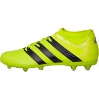 adidas Mens ACE 16.2 Primemesh FG Football Boots Solar Yellow/Core Black/Silver Metallic