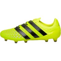adidas Mens ACE 16.1 FG Football Boots Solar Yellow/Core Black/Silver Metallic